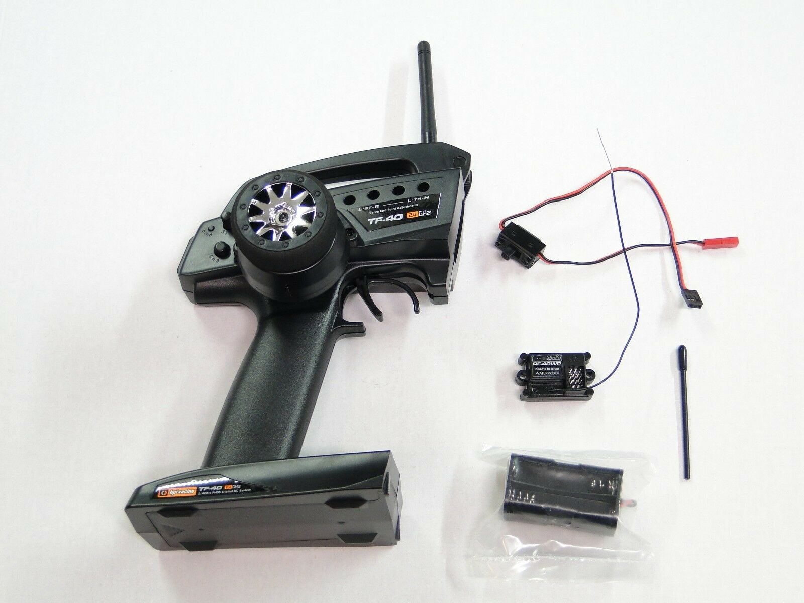 NEW HPI SAVAGE X 4.6 RTR Radio System TF-40 RF-40WR XL 5.9 SS FLUX HXR