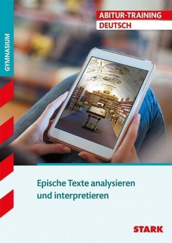 1 von 1 - Abitur-Training - Deutsch Epische Texte analysieren und interpretieren