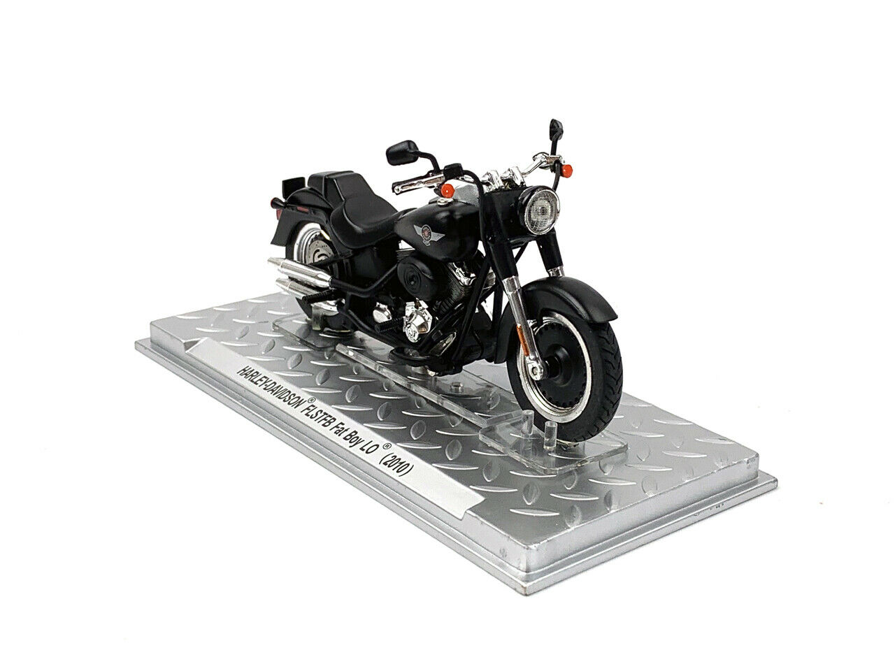 1 24 Harley-Davidson FLSTFB FAT BOY LO 2010 Motorcycle Model