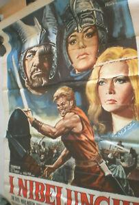 XXXL Filmplakat, NIBELUNGEN,INIBELUNGHI,UWE BEYER,R HENNIGER,TERENCE HILL#69