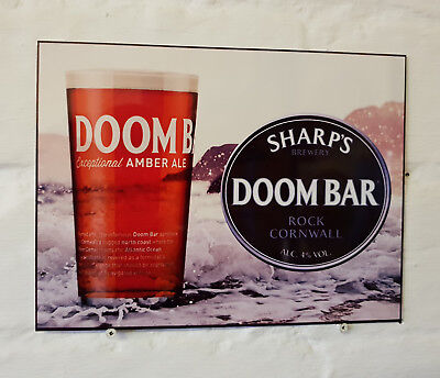 Doom Bar METAL BEER SIGN 2 Sizes Available ideal for pub bar Man Cave real ale