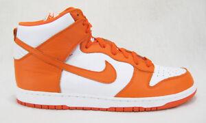 wholesale dealer 9decd 600ad Image is loading Nike-Dunk-Retro-High-Syracuse-Orange-Basketball-Shoes-