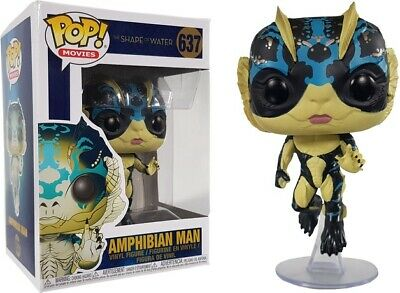Shape of Water Amphibian Man w//Glow Brand New In Box POP Movies Funko