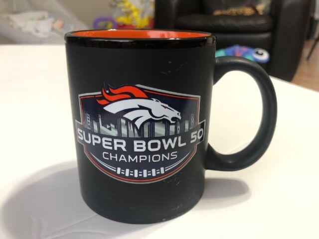 NFL Denver Broncos Super Bowl 50 Champions Black Mug