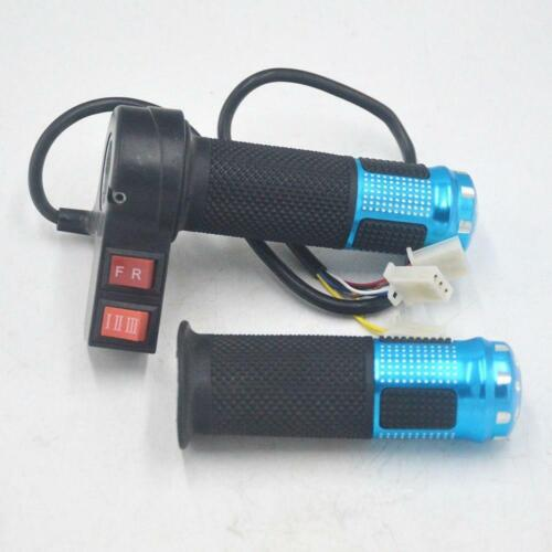Details about  /Electric Bicycle Throttle with 3 Speed Controller and Forward Reverse for eBike