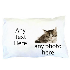 Personalised-Photo-Pillowcase-Any-Photo-Any-Text-Great-gift-Pillow-case