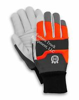 Husqvarna Functional Chain Saw Protective Glove Goat Leather Gloves