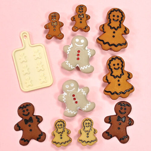 Buttons Galore Gingerbread Cookies 4773 Christmas Embellishments Dress It Up