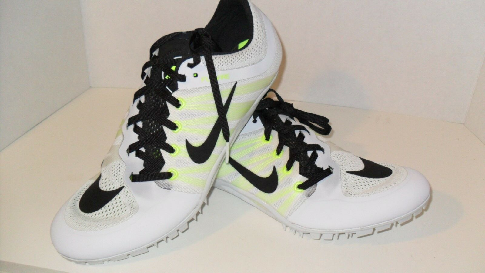 f097a138172c8 Nike Racing Zoom JA Fly 2 Track Sprint Racing Nike Spikes 705373-107 White   .