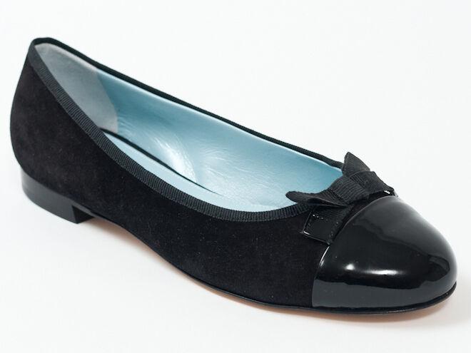 Nuevo Miu miu by PRADA PRADA PRADA Zapatos de Taco Bajo De Gamuza Negra Talla 36 EE. UU. 6  mejor reputación