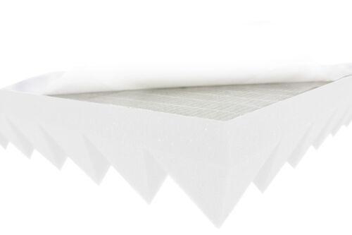 Akustikpur Pyramidenschaumstoff B1 SELBSTKLEBEND 5cm Akustikschaumstoff Dämmung
