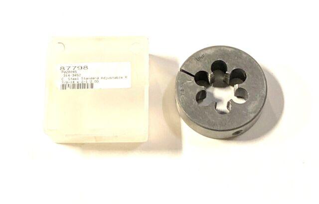 """Westward 10M967 Hexagon Rethreading Die 1//2/""""-13NC Carbon Steel"""