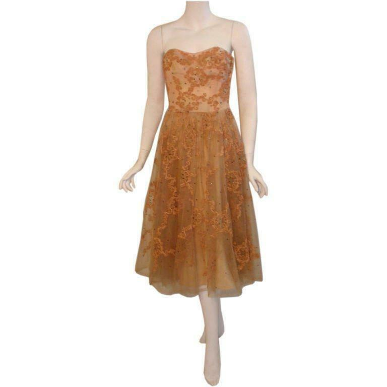 CEIL CHAPMAN 1960s Vintage Cocktail Dress - image 2