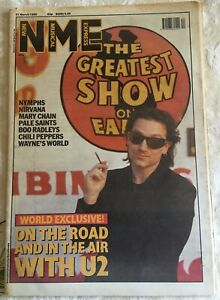 NME New Musical Express UK Magazine - March 21 1992 Bono Cover