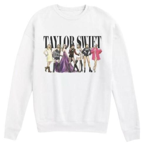 Taylor Swift Eras Limited Edition White Sweatshirt