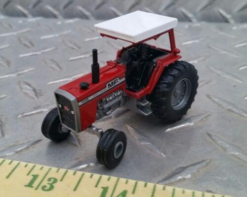 1//64 custom agco massey Ferguson 1135 tractor w// canopy single rear farm toy