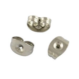 200pcs-201-Stainless-Steel-Safety-Ear-Nut-Earring-Back-Butterfly-Finding