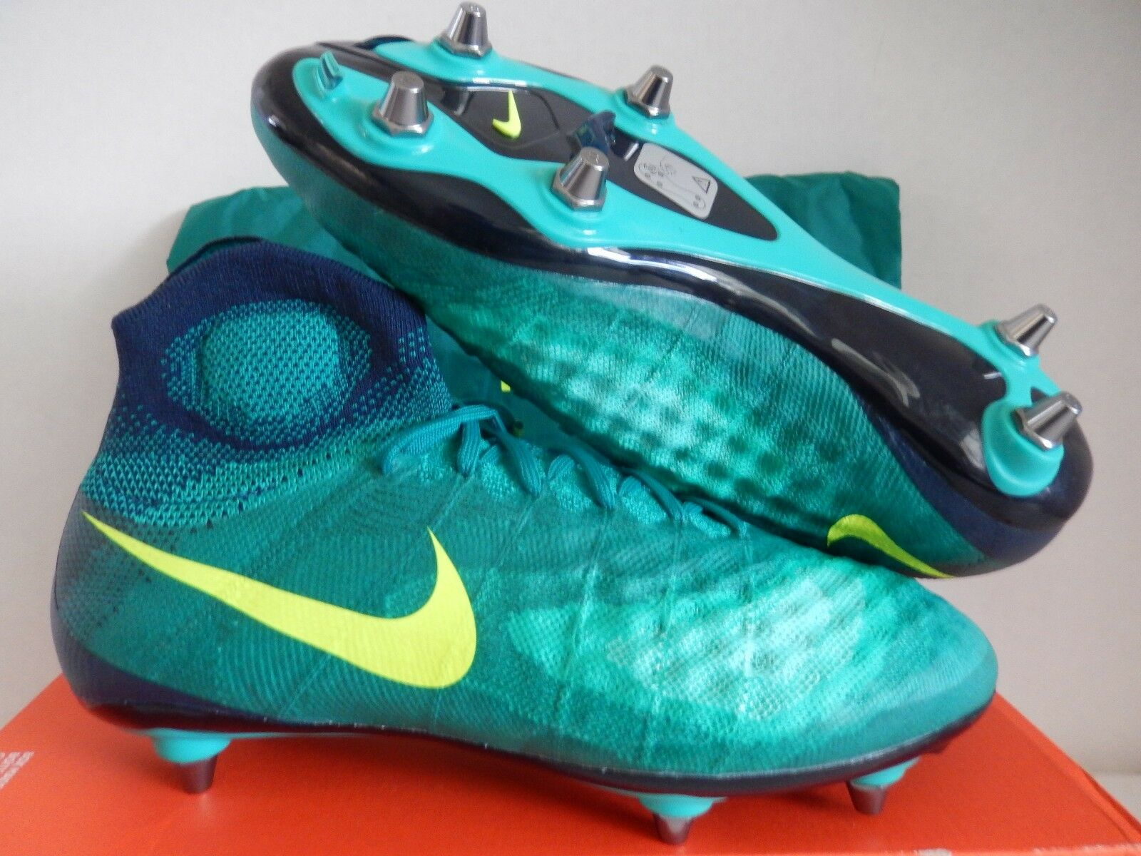 detailed look 4a5ba 900c7 Nike magista obra II SG pro Rio Rio Rio Teal Verde-obsidian reduccion de  precio