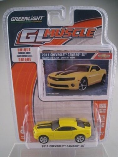Chevrolet Camaro SS  2011  GL Muscle  Greenlight  Limited Edition  1:64  OVP NEU