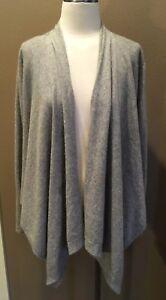 Grey 100 Shrug Willi Xl Sweater Cardigan Smith Pretty Cashmere Heather qtwwBxFR4