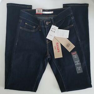 Levi-039-s-Women-039-s-712-Slim-Fit-Mid-Rise-Stretch-Denim-Jeans-24-x-30-NWT