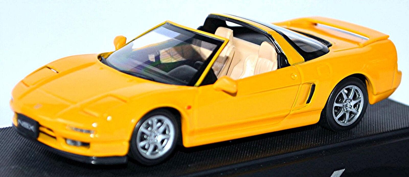 Honda Nsx-T Targa-Top 1995-97 Yellow 1 43 Ebbro