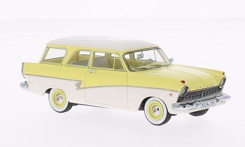 Ford p2 combi jaune blanc 1957  1 43 neo  beaucoup de concessions