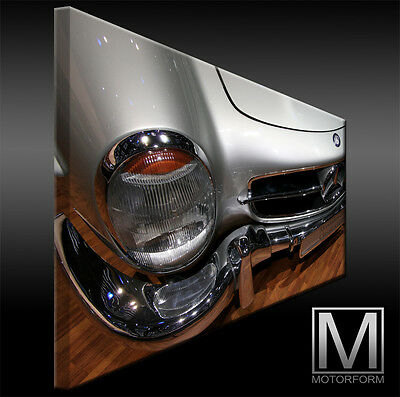 Auto & Motorrad: Teile Mercedes 300sl Roadster W198 Ii Leinwand Bild Canvas Art Kunstdruck Leinwandbild Und Verdauung Hilft