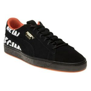 new style 1366c be375 Details about New MENS PUMA BLACK SUEDE ANR Sneakers Retro
