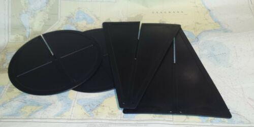 Kunststoff Signalkegel // Ankerball zum Ineinanderstecken schwarz