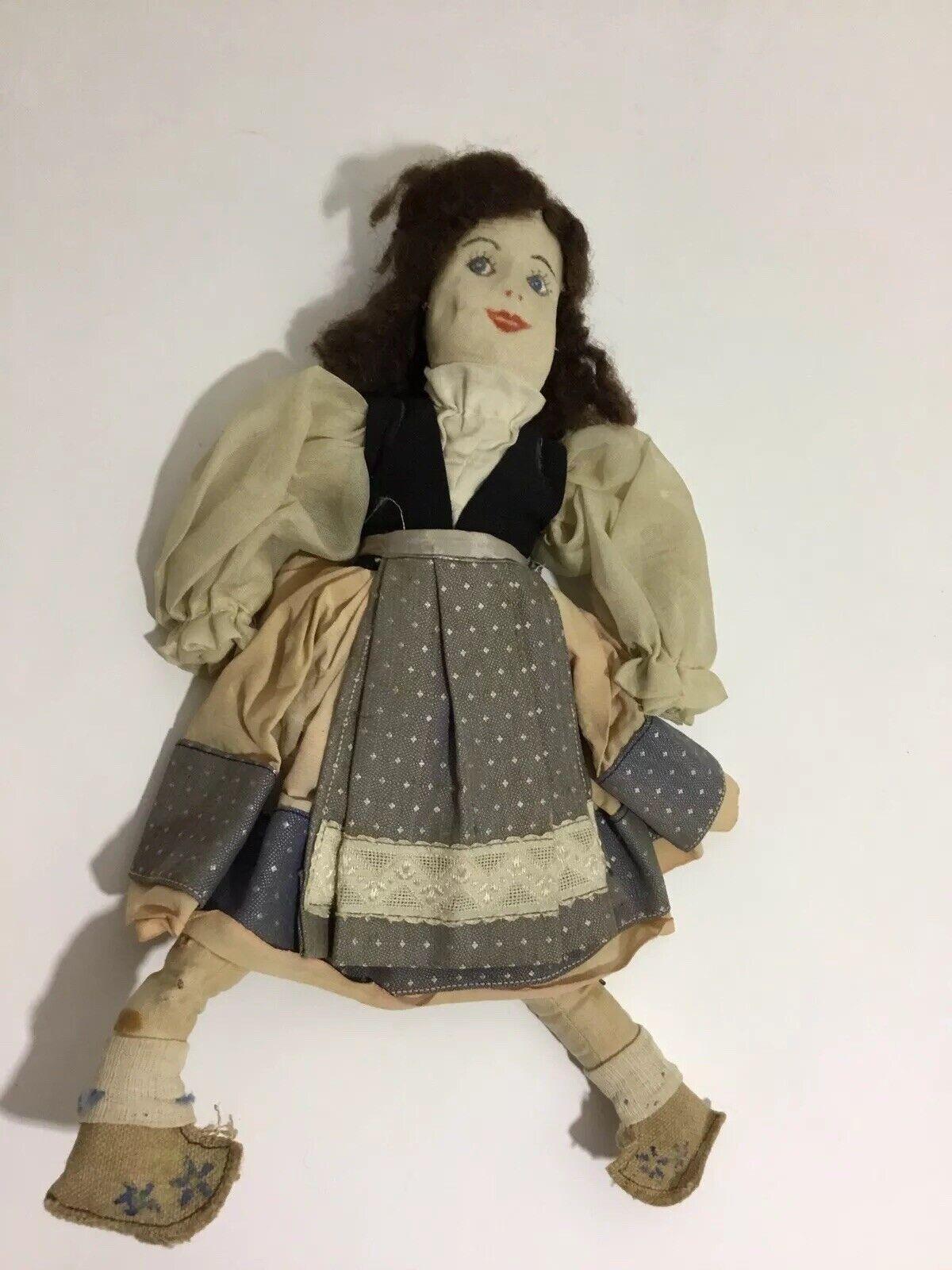 prezzo all'ingrosso RARE WPA lavoro Projects Administration Administration Administration 1930's Cloth GIRL bambola ORIGINAL Clothes  tutti i prodotti ottengono fino al 34% di sconto