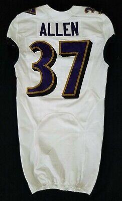 #37 Javorius Allen of Ravens NFL Game Issued Player Worn Jersey - BR 1742 | eBay