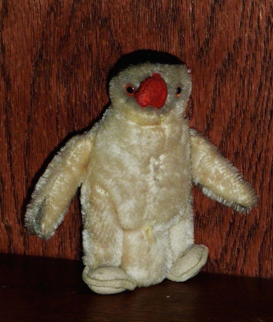 Antique Vintage Peggy Penguin Steiff Button  2285638