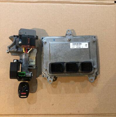 07 08 Honda Civic 37820-RMX-A01 Computer Brain Engine Control ECU ECM EBX Module