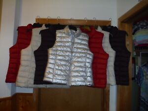 GAP Puffer Jackets 2XL,XL,L,M,S some Color Full Zip /& Snap 100/% polyester NWT