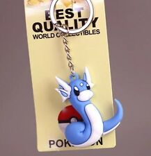 Pokemon Dratini Rubber Keychain 2 Inches US Seller