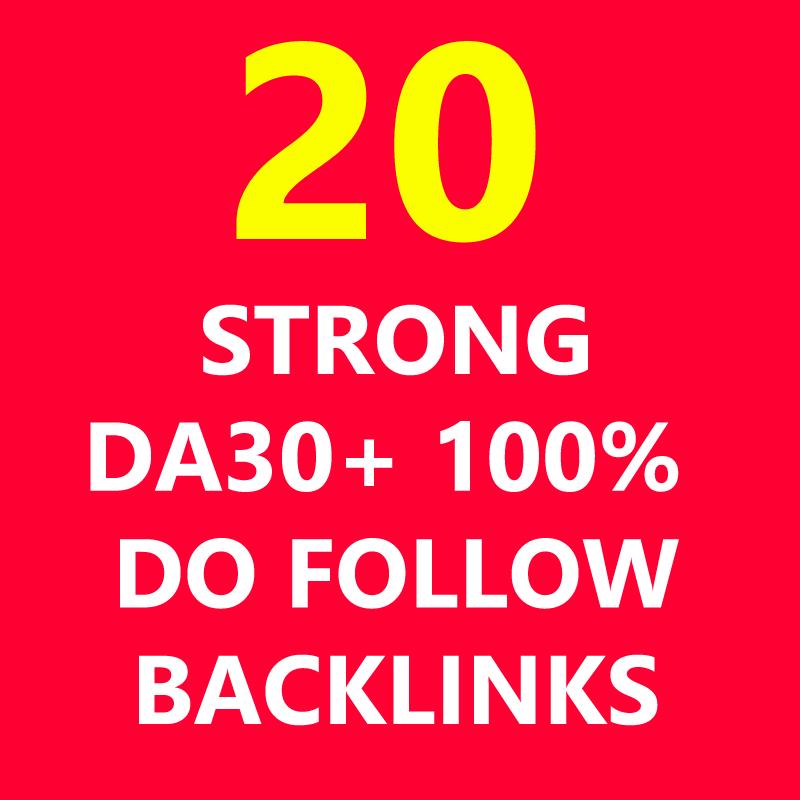 Backlinks Links HIGH DA30+ 100% Do Follow Get Seo Best PA Pr9 PR Google Website 2