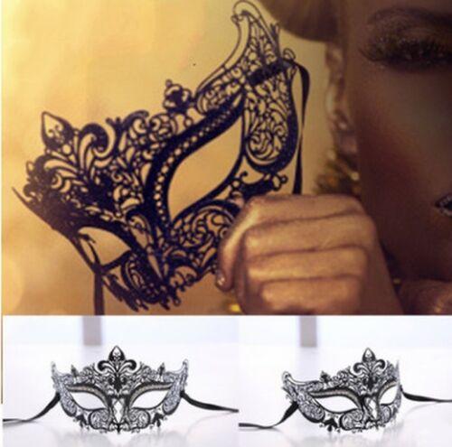 Cut Venetian Ball Luxury Mask-Halloween Masquerade Masks Elegant MetalLaser GP3X