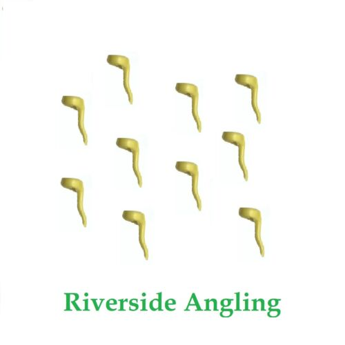 Carp Fishing Tackle Zig Aligna Yellow  x10 Hook Line Aligners Chod Rigs