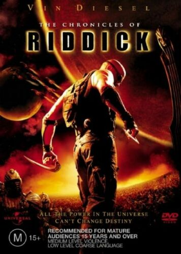 1 of 1 - The Chronicles of Riddick NEW R4 DVD