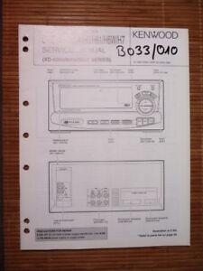 GüNstiger Verkauf Service-manual Kenwood C-h5/h51/h6/h7 Equaliz,original Anleitungen & Schaltbilder