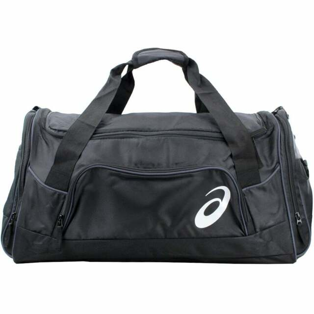 ASICS Edge II Medium Black Duffle Bag Zr3435 for sale online   eBay