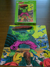 70's Vintage Incredible Hulk Puzzle 200 Pc Whitman Marvel Universe Complete 1976