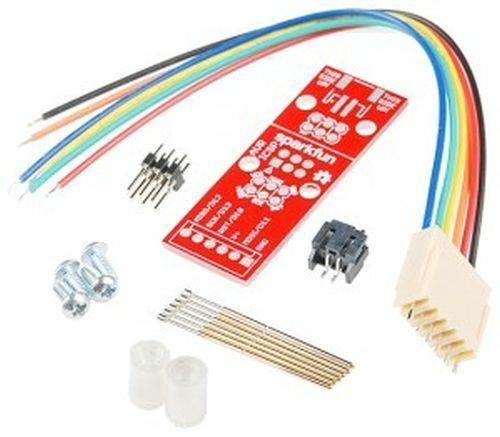 Pogo Pin Adapter Kit for 2x3-pin AVR ISP