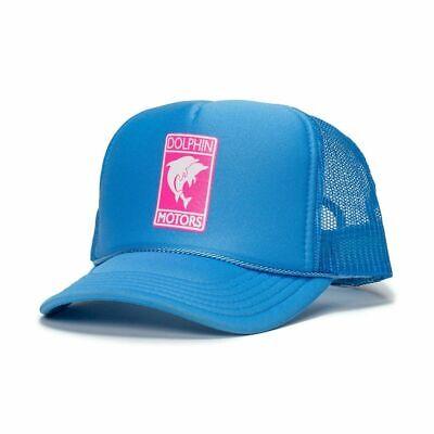 Pink Dolphin Men/'s Take Flight Trucker Snapback Hat Black Headwear Baseball NWT