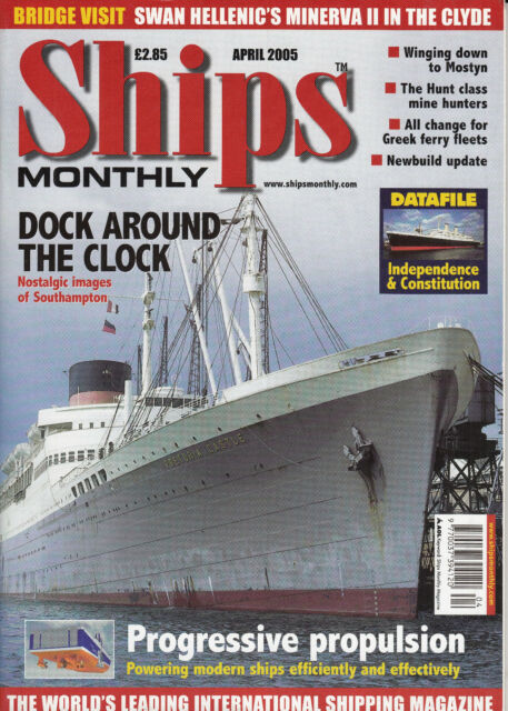 2589/ SHIPS MONTHLY - April 2005 - TOPP HEFT