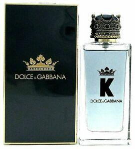 K Cologne by Dolce & Gabbana 3.3 oz. Eau de Toilette Spray for Men New Unsealed
