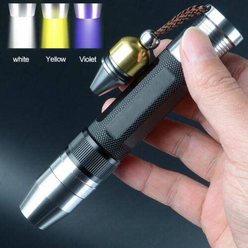 Expert Gem Torch 3in1 Jade UV Yellow White LED Flashlight Jewelry Jade Appraisal