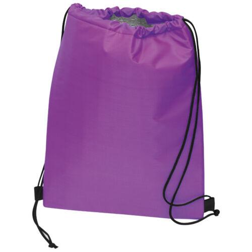Gymbag mit isolierendem Innenfutter Sportbeutel Farbe Turnbeutel lila