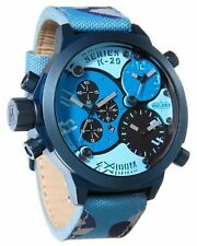 Welder by U-Boat Triple Time Zone Chronograph Camouflage Men's Watch K29-8006